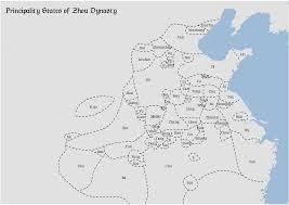 Eastern States Map by Zhou Dynasty Wikipedia