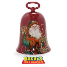st nicholas bell 2004 hallmark father christmas cloche santa gift