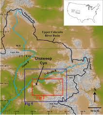 Map Of Western Colorado by Abandonment Of Unaweep Canyon 1 4 U20130 8 Ma Western Colorado