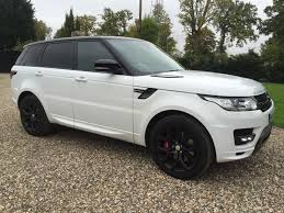 land rover sports car range rover sport autobiography 7 seater hire sdv6