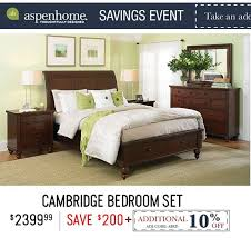 Celebrate Veterans Day And The Aspen Savings Event RC Willey - Bedroom sets at rc willey