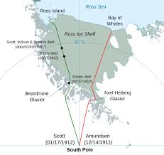 Sun Country Route Map by Comparison Of The Amundsen And Scott Expeditions Wikipedia