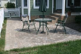 Small Outdoor Table by How Big Should You Build Your New Patio Hardscape