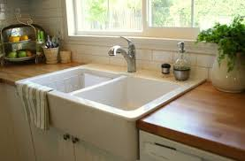 drop in farmhouse sink drop in farmhouse kitchen sink foter attractive overmount with