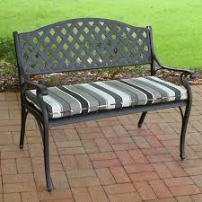 Benches With Cushions - outdoor bench fabric u0026 cushions suntastic