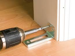 How To Hang A Closet Door Prime Line Sliding Closet Door Bottom Guides Heavy Duty Bypass