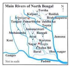 Map Of Rivers File Bd Map Rivers Of North Bengal2 Jpg Wikimedia Commons