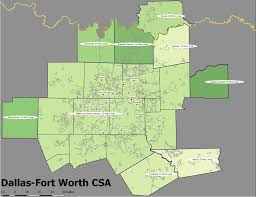 Arlington Tx Map Population Growth In Csas And Metropolitan Areas 1900 2016
