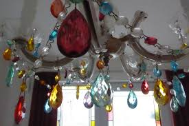 Best Way To Clean Chandelier Crystals Using Glass Paint To Brighten Up Your Lights Youtube