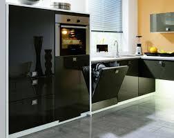 einbau küche alnolight fly einbauküche front schwarzlack hochglanz