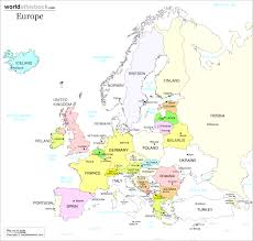 Europe Map Cities by Europe Maps With Map Western Europe Cities Evenakliyat Biz