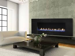 amazing regtangle black modern fireplace inserts gas high gloss