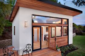 tiny prefab home makes picture perfect backyard guesthouse curbed