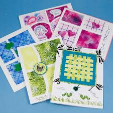 paper greeting cards sponged paper cards tutorial greeting card class 2