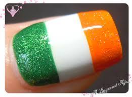 ireland flag nail art nail art ideas