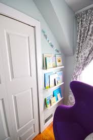 the reveal a blue and purple nursery the sweetest digs