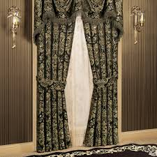 Demask Curtains Imperial Damask Empire Valances And Curtains