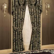 damask gold curtains curtain ideas