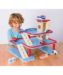 Plan Toys City Series Wooden Parking Garage by Buy Chad Valley Wooden Garage Playset At Argos Co Uk Your Online