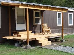 home design covered deck ideas for mobile homes deck exterior