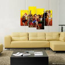 team 7 sofa 2018 unframed luffy s team 7 persons anime poster print on canvas