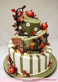 wedding cake harvest of the october 2010