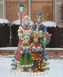 decorations 48 caroler family by