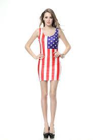 Flag Dress Buy Diyouth Selling America Flag Printed Women Mini Dress