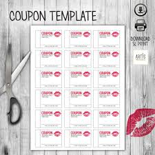 fiesta hair salon printable coupons printable coupon book digital paper coupon empty love coupon date
