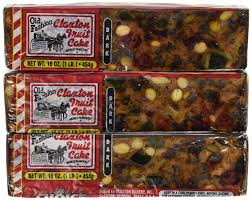 fruit cake boxed 3 1lb regular recipe claxton fruitcake amazon