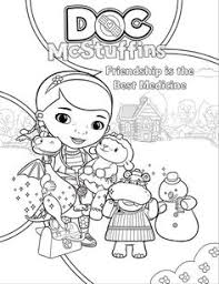 free doc mcstuffins coloring pages activity sheets print