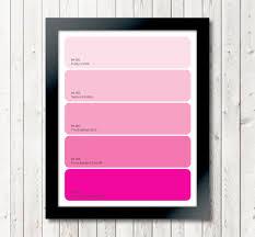 pink paint colors home design inspiration