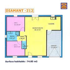 plan maison une chambre plan maison plein pied 2 chambres plan maison plan