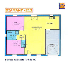 plan plain pied 2 chambres plan maison plein pied 2 chambres plan maison plan