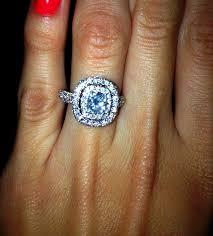 2 carat cushion cut engagement ring 68 best cushion cut engagement rings images on cushion