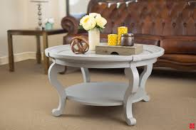 Diy Round End Table by Diy Coffee Table Update Brings New Life To Your Room