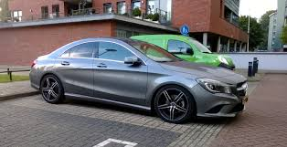 lowered amg first probably eibach pro kit lowered cla page 3