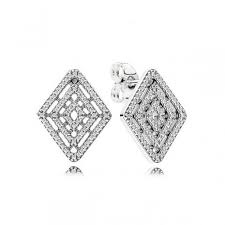 store stud earrings geometric lines stud earrings pandora jewelry outlet online store