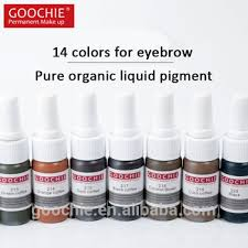 tattoo ink buy goochie best tattoo ink organic permanent makeup microblading