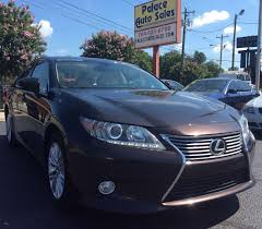 lexus suv for sale charlotte nc 2013 lexus es 350 4dr sdn city nc palace auto sales
