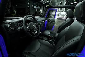new jeep wrangler interior new limited edition jeep wrangler night eagle announced motoroids