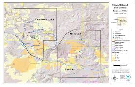 Where Is New Mexico On The Map by Grants Mining District In New Mexico Us Epa