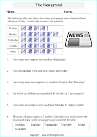 ideas of tally chart and frequency table worksheets on summary