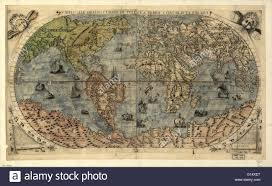 Map Venice Italy by World Map Published Around 1565 In Venice Italy By Italian