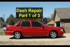 dash removal for noise evaporator replacement volvo s70 v70