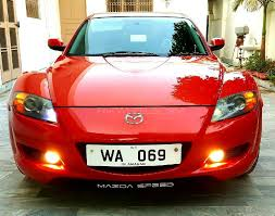rx8 car used mazda rx8 for sale at al waris traders islamabad showroom