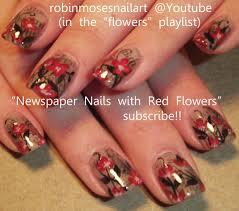 watercolor flower nail art design fall cute nail tutorial nail