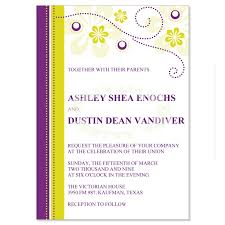 purple wedding invitation kits purple yellow wedding invitation kit plum diy printable