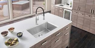 kitchen cabinet sink faucets stainless steel kitchen sinks blanco