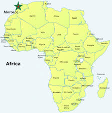 African Countries Map Morocco On The Move Morocco To Play Key Role At Us Africa